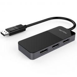 PremiumCord  MST adapter DisplayPort 1.4 -> 3x DisplayPort, až 8K@30Hz