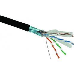 FTP Solarix venkovní outdoor kabel, Cat5e, drát, 1m