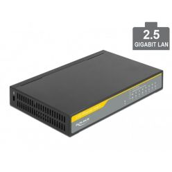 Delock 2,5 Gigabit Ethernet Switch 8 Port