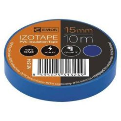 Izolační páska PVC 15/10 modrá