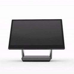 """Dotykový počítač FEC XPOS 3685W, 15,6"""" LED LCD, PCAP, Intel Core i3-7100U 2,4GHz , 4GB, bez HDD, bez rámečku, titanová"""