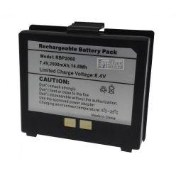 Cashino náhradní Li-ion baterie 2000mAh k přenosným pokladním tiskárnám PTP-II, PTP-III