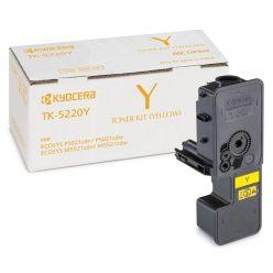 Kyocera toner TK-5220Y/ 1 200 A4/ žlutý/ pro M5521cdn/ cdw, P5021cdn/cdw