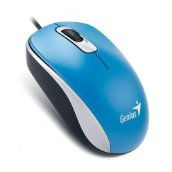 Genius DX-110, optická myš, 1000dpi, USB, modrá