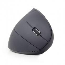 GEMBIRD vertikální optická myš, bezdrátová, černá
