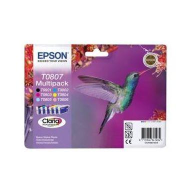 Epson C13T080740, multipack cartridge