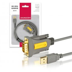 AXAGON ADS-1PS USB2.0 - seriový RS-232 screw adapter 1,5m