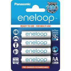 Panasonic eneloop, AA, Ni-Mh, 4ks, 1900mAh, 2100 cyklů