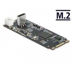 Delock konvertor M.2 Key B+M samec na USB-C samice
