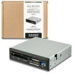 """AXAGO CRI-S3, interní čtečka karet do 3.5"""" pozice, USB 3.0, 5-slotů, černá"""