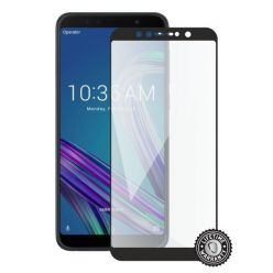 Screenshield ASUS Zenfone Max Pro ZB602KL Tempered Glass protection (full COVER black)