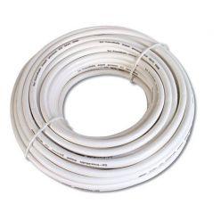 SAT kabel metráž, 85DB,6,8MM Coat, 100m ,PVC,bílá