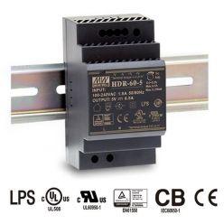 MEANWELL • HDR-60-24 • Průmyslový napájecí spínaný zdroj 24V 60W na DIN