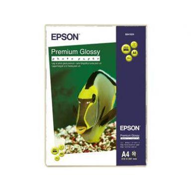 Epson Premium Glossy Photo paper, A4, 255g/m2, 50 listů