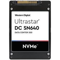 WD SN640 960GB SSD U.2 NVMe PCIe Gen 3.1 x4, 3000/1100MB/s, 413k/44k IOPS, 0,8DWPD