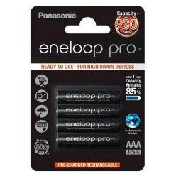 Panasonic eneloop PRO, AAA, Ni-Mh, 4ks, 930mAh, 500 cyklů