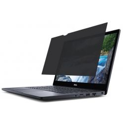 Dell - Laptop privacy filter - 15.6-inch - black
