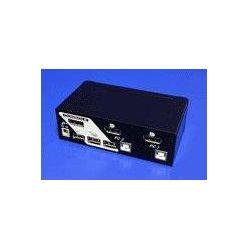 Roline Přepínač počítačů 2:1 (USB klávesnice ,DP ,USB myš)7