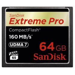 SanDisk Extreme Pro 64GB, CompactFlash karta, 160MB/s, VPG65, UDMA7
