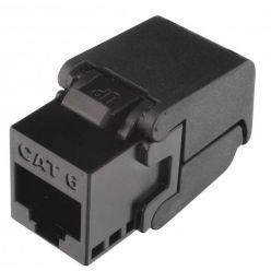 Keystone konektor kat. 6, nestíněný, Solarix zaklapávací