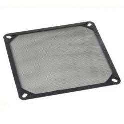 AKASA prachový filtr pro 120mm ventilátory, černý