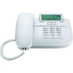 SIEMENS Gigaset DA611 - standardní telefon s displejem, barva bílá