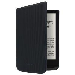 POCKETBOOK pouzdro pro Pocketbook 616, 627, 632/ černé-pruhované