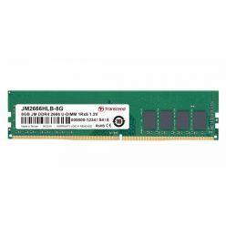 Transcend JetRam 8GB DDR4 2666MHz CL19 1Rx8 DIMM