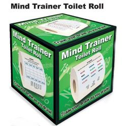 PRIME Mind Trainer Toilet Roll