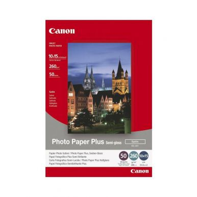 Canon SG-201, fotopapír, pololesklý, 10x15cm, 50 listů