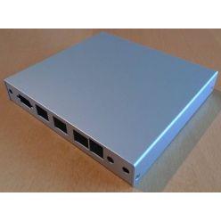 Montážní krabice PC Engines pro ALIX.2D3 a 2D13 (3x LAN, 1x USB)