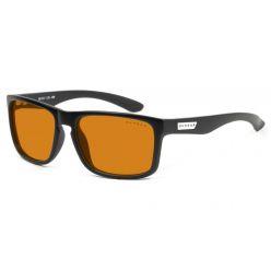 GUNNAR herní brýle INTERCEPT ONYX/ černé obroučky/ jantarová skla