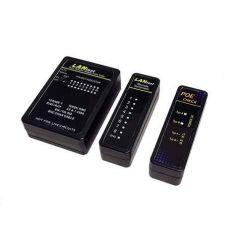 Tester kabeláže (RJ45, RJ12, BNC) + PoE tester