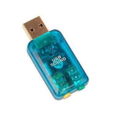 Adaptér USB / Audio 2x 3.5mm Jack (Tenx TP6911)