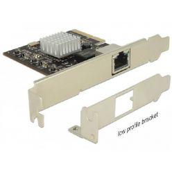Delock 10Gigabitová síťová karta, 1x RJ45, LP, PCIe
