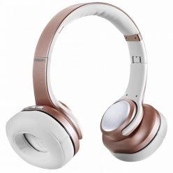 EVOLVEO SupremeSound 8EQ, Bluetooth sluchátka s mikrofonem, růžová