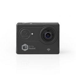 Nedis ACAM61BK - Akční Kamera | Real 4K Ultra HD | Wi-Fi | Vodotěsné Pouzdro