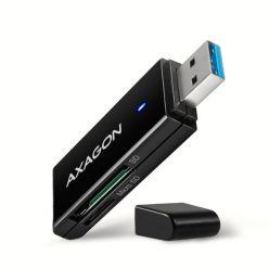 AXAGON CRE-S2N, USB 3.1 čtečka karet, SD/microSD, podpora UHS-I