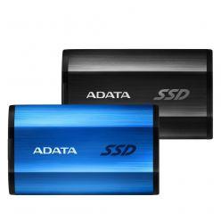 ADATA SE800 512GB, externí SSD, USB 3.1, modrý