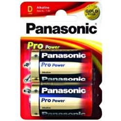 Alkalické baterie D Panasonic Pro Power LR20 2ks