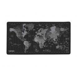 Maxi podložka pod myš Natec Time Zone Map, 40x80cm