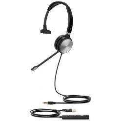 Yealink UH36 Mono náhlavní souprava, jednoušní, USB redukce, 3,5mm jack