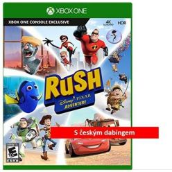 XONE hra Rush: A Disney Pixar Adventure