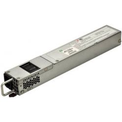 SUPERMICRO 1U 400W Redundant High Efficiency Short Depth