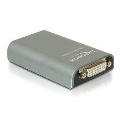 DeLock grafický adaptér USB 2.0 s DVI výstupem