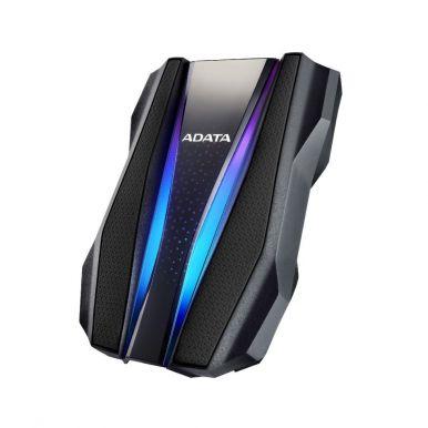 """ADATA HD770G 2TB, externí 2.5"""" HDD, USB 3.0, černý, RGB"""