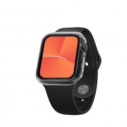 TPU gelové pouzdro FIXED pro Apple Watch 44mm, čiré