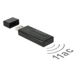 Delock USB 3.0 dvoupásmový Wi-Fi ac adaptér, 867Mbps