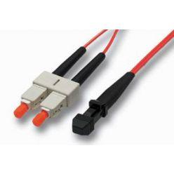 Optický patchkabel MTRJ-SC 50/125 (multi mode), duplex, 5m