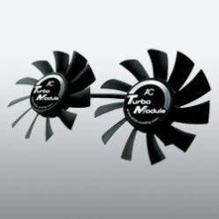 ARCTIC COOLING Turbo Module, přídavné ventilátory pro chladiče Accelero